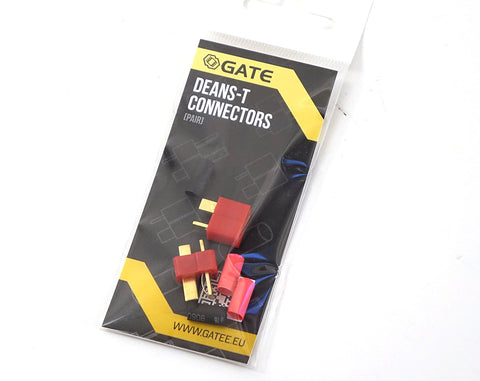 Gate T-Plug Set (Male/Female) - Deans Connectors