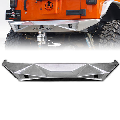 Beast Series Rear Aluminum Bumper for 07-17 Jeep Wrangler - Altitude Jeep