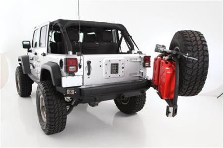 Smittybilt XRC Atlas Rear Bumper and Tire Carrier (Black) - Altitude Jeep