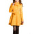 Melansay Women's Winter Princess Wool Wrap Coat Jacket