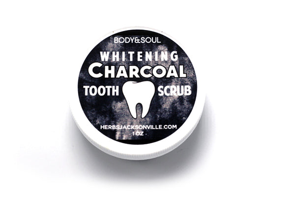 Large Charcoal Tooth Scrub
