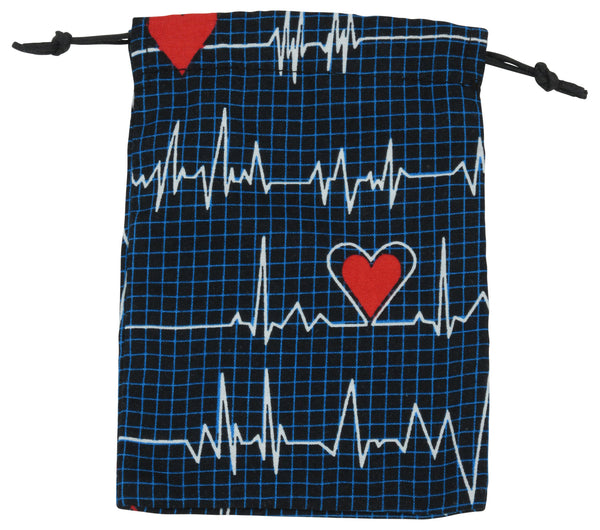 EKG Black Surgical Sacks