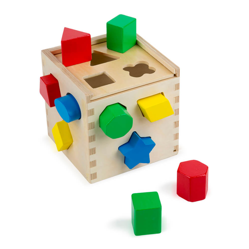 Melissa and Doug: Shape Sorting Cube