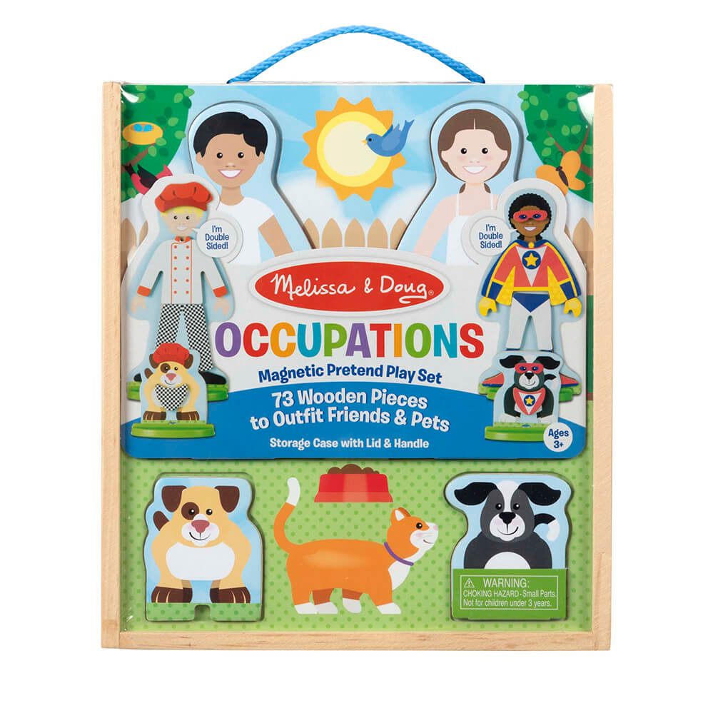 Melissa and Doug Occupations Magnetic Dressup