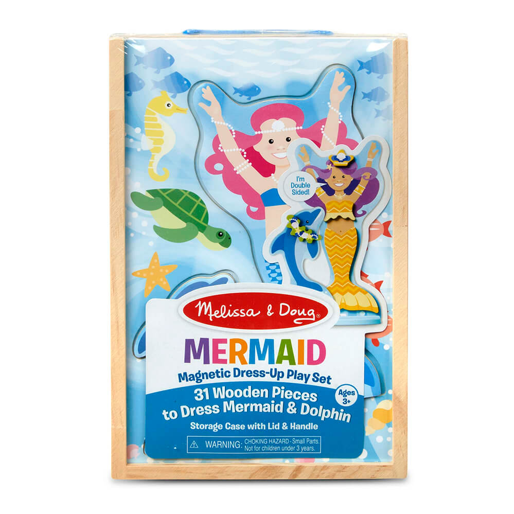 Melissa and Doug Mermaid Magnetic Dressup