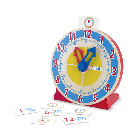 Melissa and Doug: Turn and Tell Clock - Melissa and Doug - Little Funky Monkey - 1