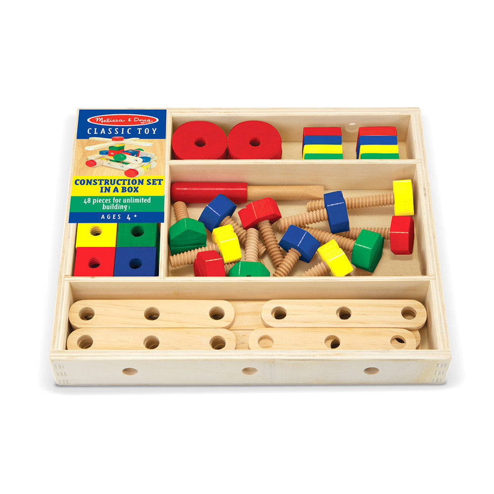 Melissa and Doug: Construction set in a Box - Melissa and Doug - Little Funky Monkey - 1