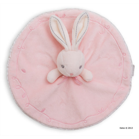 Kaloo: Perle Round Doudou Rabbit Pink - vendor-unknown - Little Funky Monkey