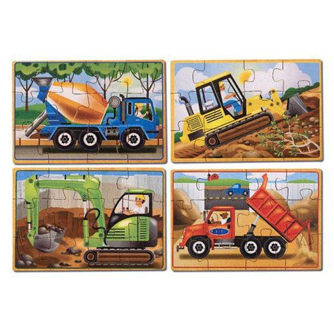 Melissa and Doug: Construction Puzzles in a Box - Melissa and Doug - Little Funky Monkey