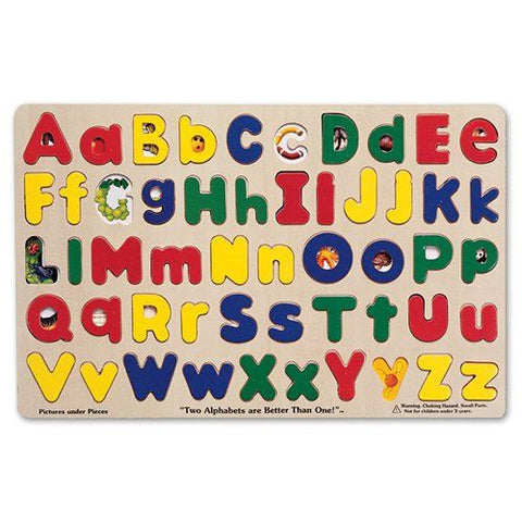 Melissa and Doug: Upper & lower case Alphabet Puzzle - Melissa and Doug - Little Funky Monkey