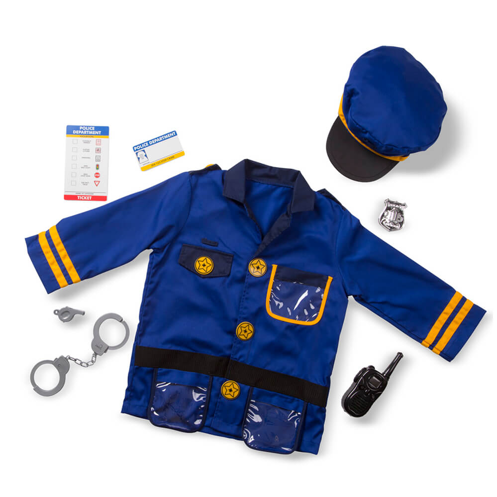 Melissa and Doug: Police Officer Costume