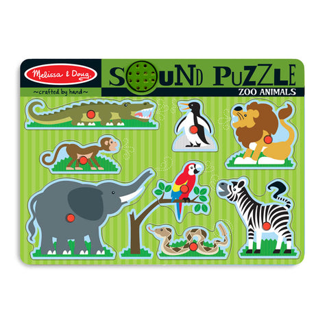 Melissa and Doug: Zoo Animals Sound Puzzle - Melissa and Doug - Little Funky Monkey - 1