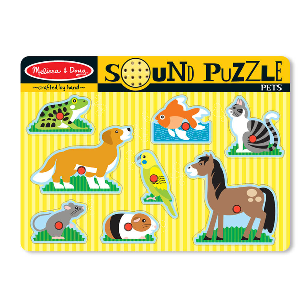 Melissa and Doug: Pets Sound Puzzle - Melissa and Doug - Little Funky Monkey - 1