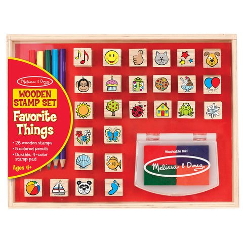 Melissa and Doug: Favourite Objects Stamp Set - Melissa and Doug - Little Funky Monkey - 1