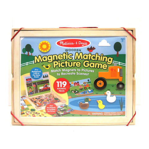 Melissa and Doug Magnetic Matching Picture Game