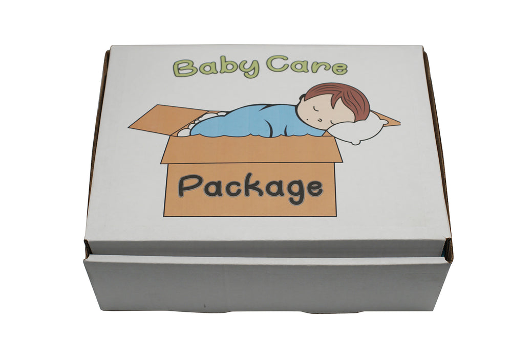 Baby Care Package, Baby Care Package (Gift Box) - Silver