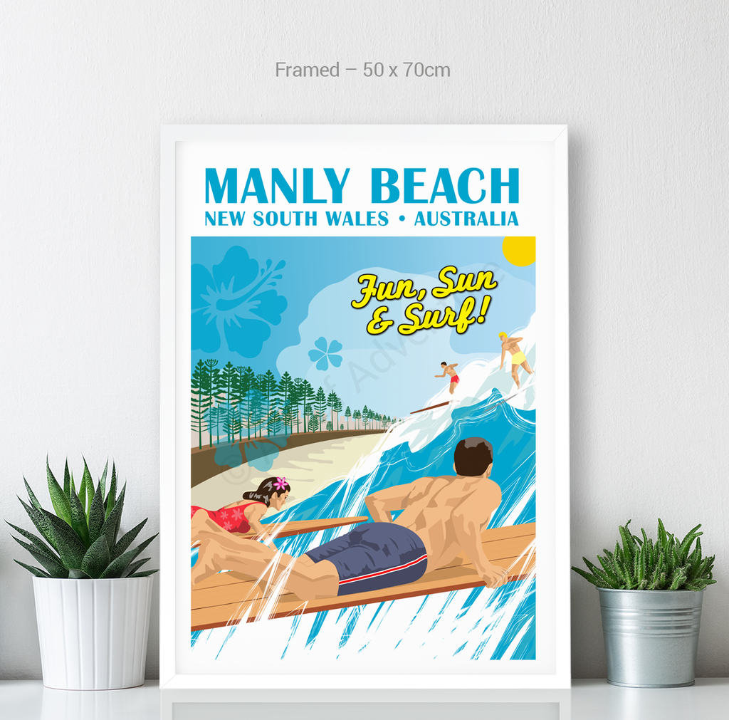 Surfers– Manly Beach - Art of Adventure