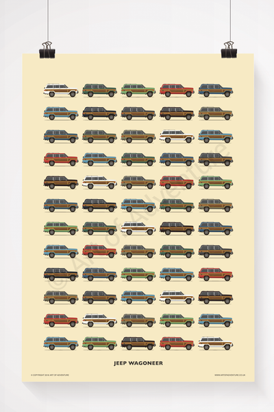 Jeep Wagoneer - Art of Adventure