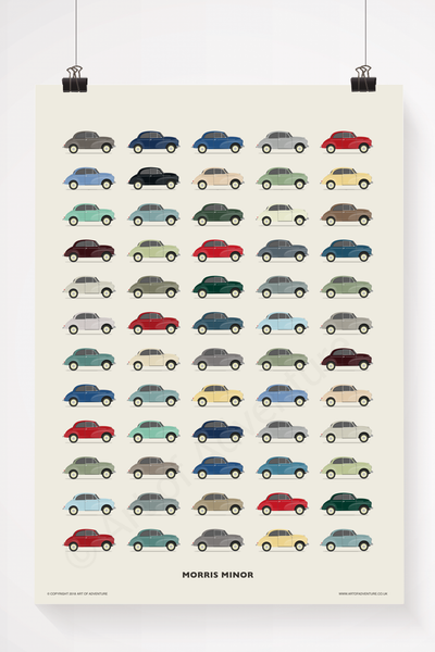Morris Minor - Art of Adventure