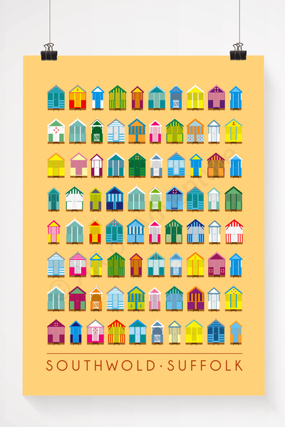 Southwold – Beach Huts - Art of Adventure