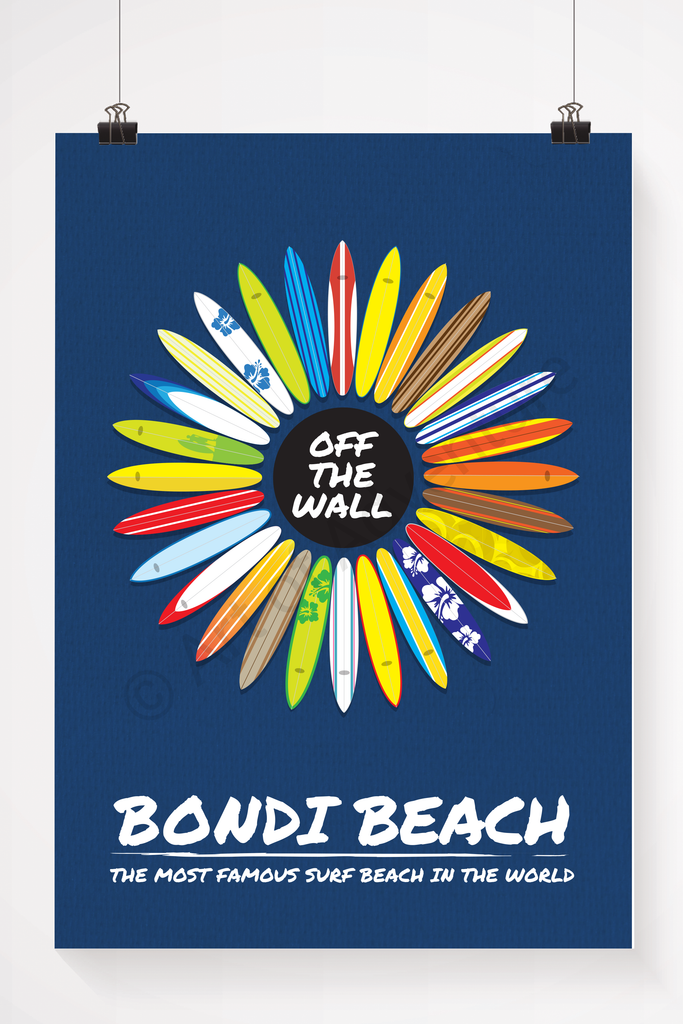 Bondi Beach – Surfboards - Art of Adventure