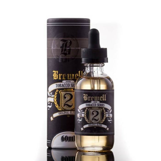 #2 (Original Tobacco) by Brewell Tobacco Series - Cheap Vape Juice - East Coast Vape Distribution