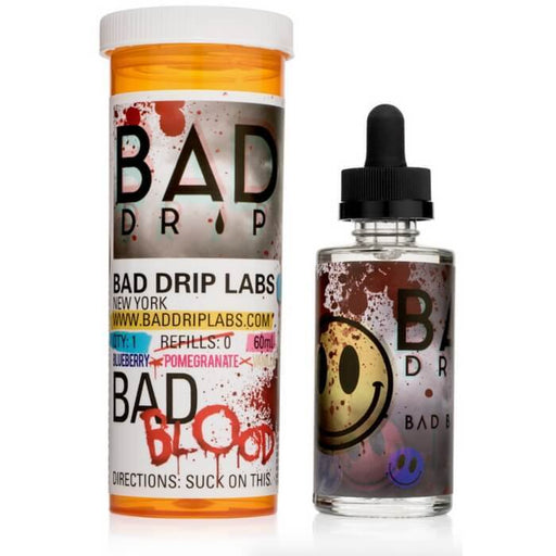 Bad Blood by Bad Drip eJuice - Cheap Vape Juice - East Coast Vape Distribution