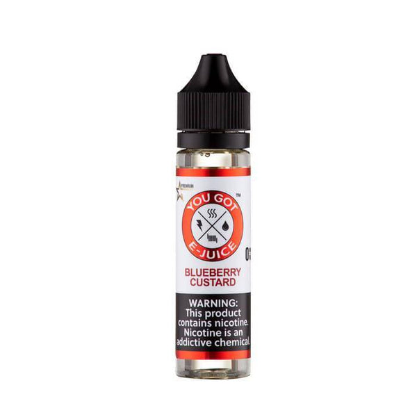 Blueberry Custard by You Got E-Juice - Cheap Vape Juice - East Coast Vape Distribution