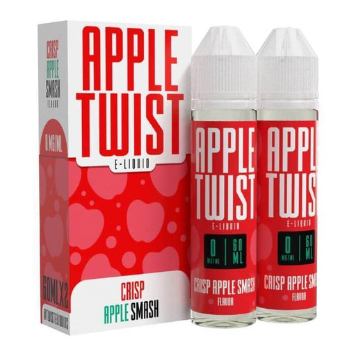 Crisp Apple Smash by Twist E-Liquids - Cheap Vape Juice - East Coast Vape Distribution