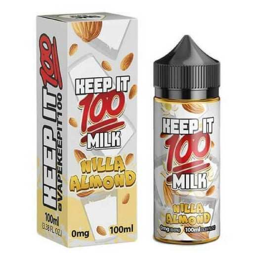 Nilla Almond by Keep It 100 eJuice - Cheap Vape Juice - East Coast Vape Distribution