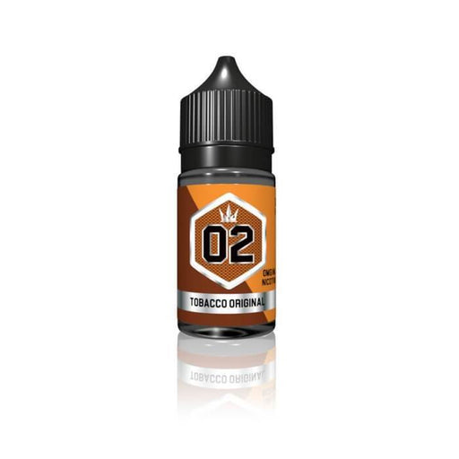 Silver #02 - Tobacco Original by Crown E-Liquid - Cheap Vape Juice - East Coast Vape Distribution
