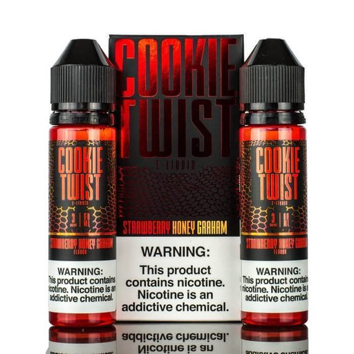 Strawberry Honey Graham Cookie by Twist E-Liquids - Cheap Vape Juice - East Coast Vape Distribution
