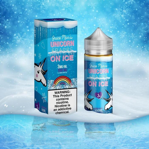 Unicorn Frappe On Ice by Juice Man - Cheap Vape Juice - East Coast Vape Distribution