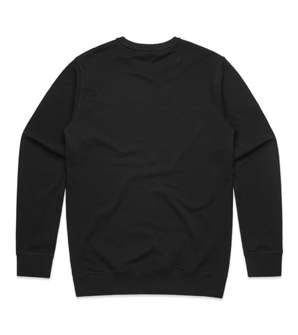 Method of Denim Custom Apparel Custom Crew Jumper - Black