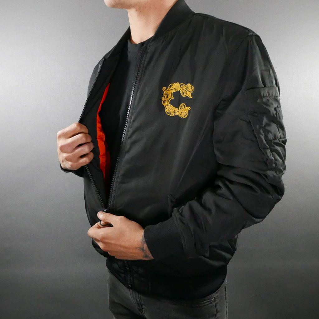 The Griffin Bomber Jacket designed by Al Boy