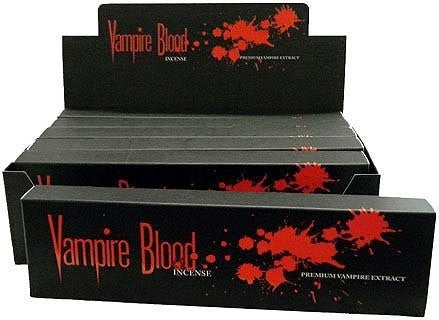 Devil's Garden Vampire Blood Incense