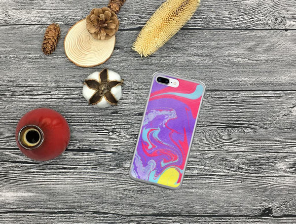 iPhone 7 Plus Case, iPhone 7 Case, iPhone 8 Case, iPhone X Case, iPhone 6/6s Case, iPhone 6 Plus/6s Plus Case, Purple iPhone Case, Gift