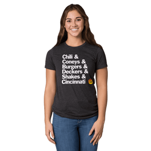 Gold Star Chili & T-shirt