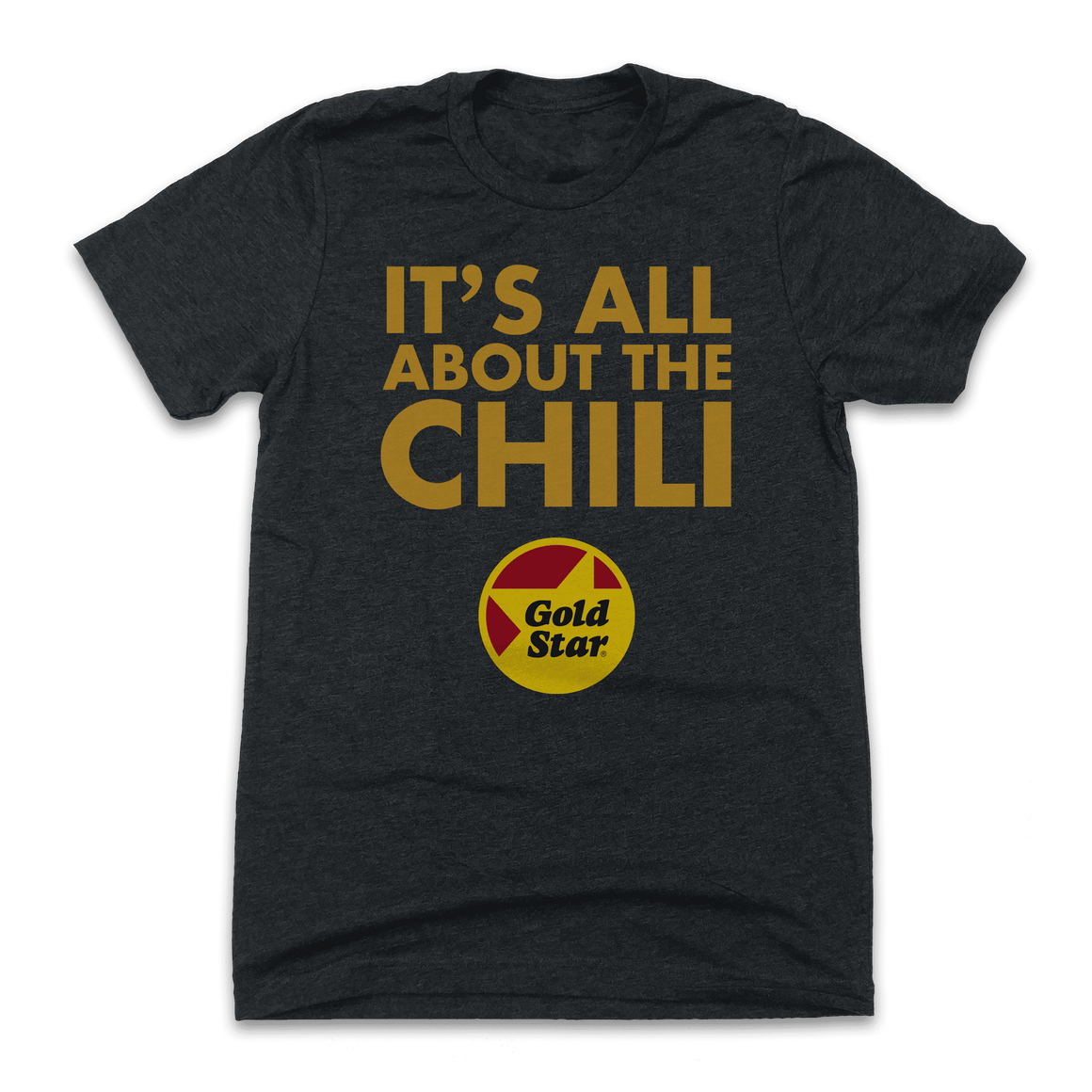Chili Time - Gold Star Chili T-shirt