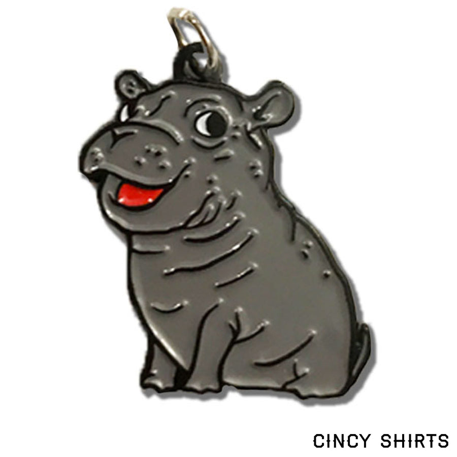 Fiona the Hippo Charm in package