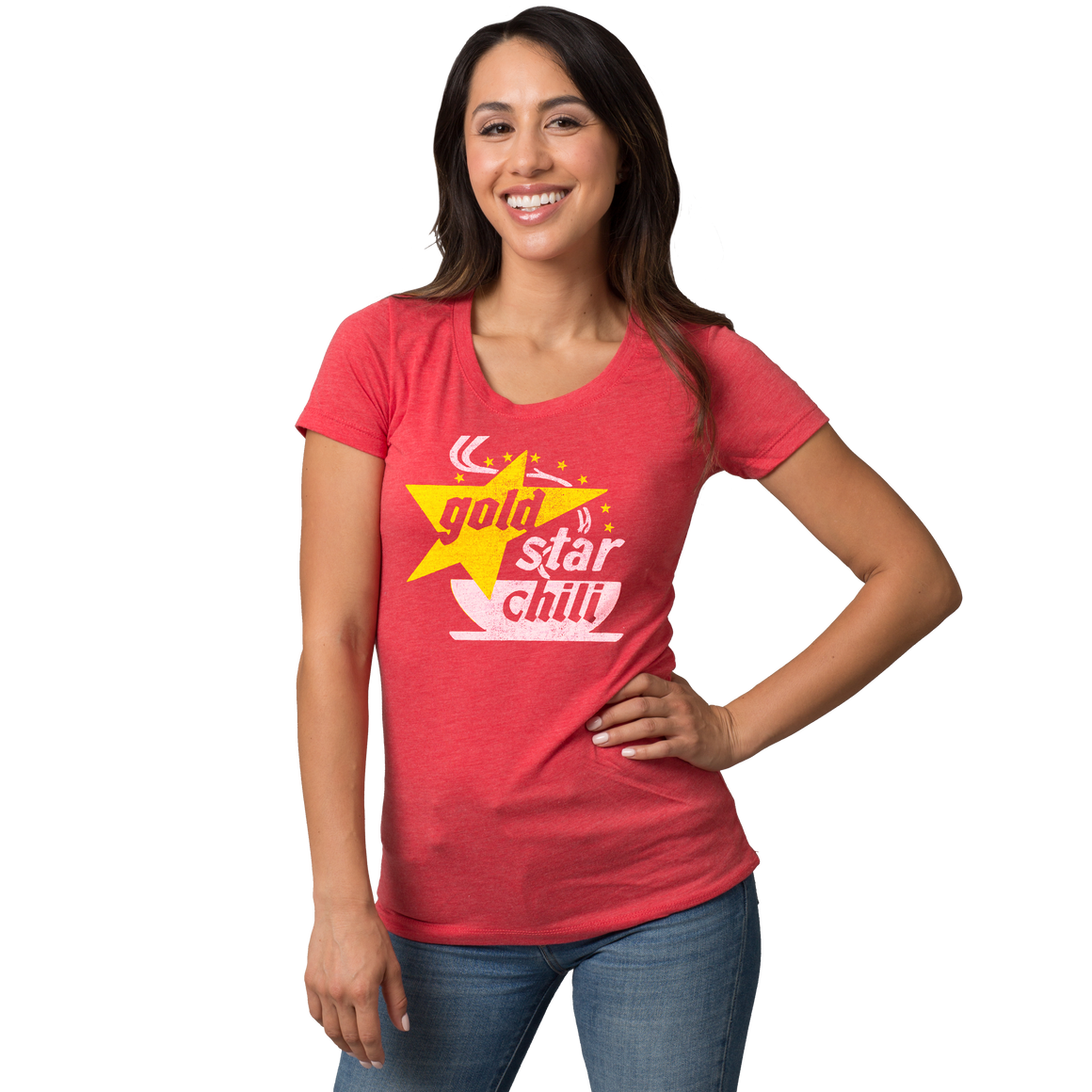 Gold Star Chili Retro Logo T-shirt