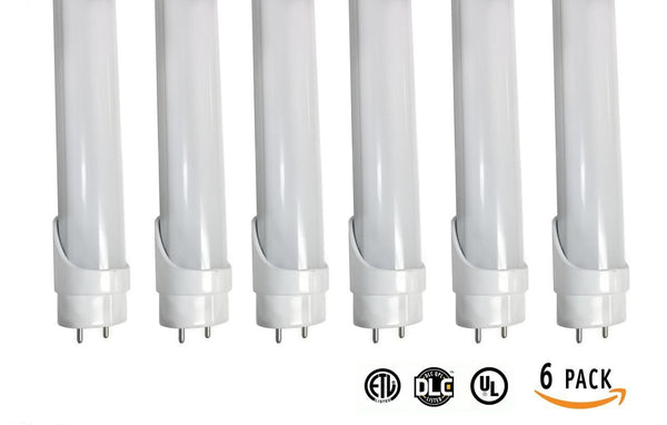 HISUN LED T8 4ft 18W One side end Powered  Works without ballast  Tube Bulb