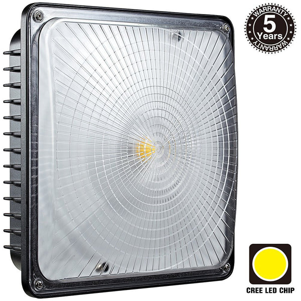 HISUN LED Slim Canopy Light 5000K Daylight