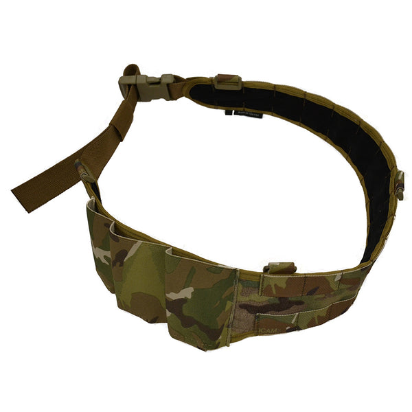 enhanced war belt in multicam