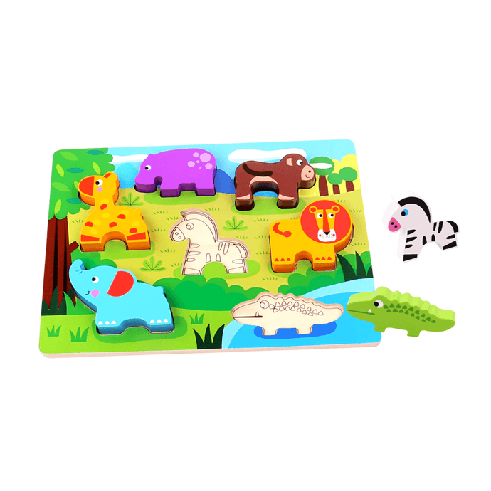 Chunky Puzzle - Animal Tooky Toy