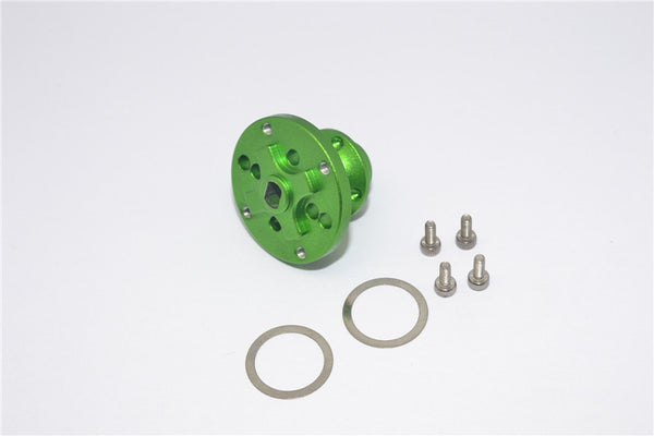 Axial SMT10 Grave Digger (AX90055) Aluminum Heavy Duty Differential Locker - 1Pc Set Green