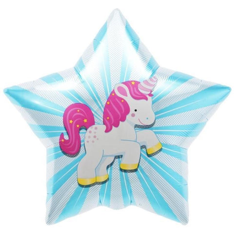 Unicorn Starbust Foil Balloon - This Little Party