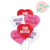 Candy Heart Balloons 6pk - This Little Party