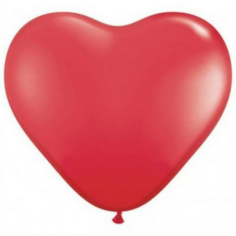 Red Heart Proposal Balloons - This Little Party
