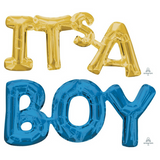 It's a Boy Baby Shower Balloon Decorations - This Little Party
